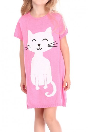 knitted-cotton-dress-with-a-cat-design-(g16-1)1