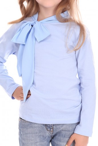 fancy-cotton-top-with-a-bow-collar-blue-(g16-15)1
