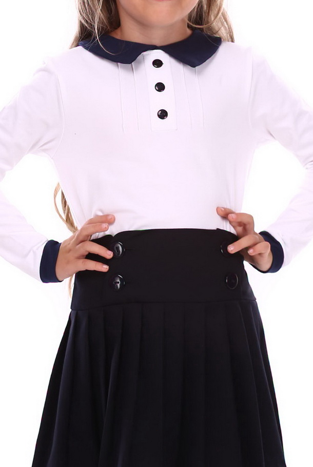 long-sleeved-cotton-top-for-school-white-navy-(g16-13)1