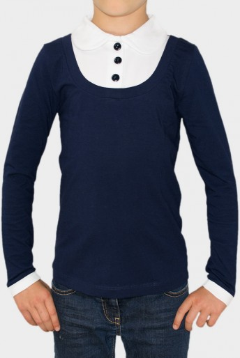 stylishly-designed-cotton-top-with-a-round-collar-navy-g16-361