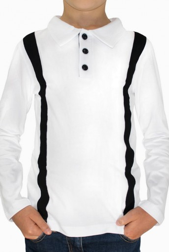 white-collar-long-sleeved-cotton-top-for-boys-white-black-b16-51